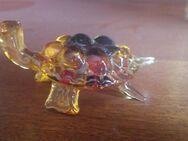 Schildkröte farbig, Lauschaer Glas /DDR - Leipzig