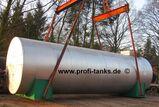 S2+S3 Stahltank 40.000 L Pflanzenöltank isoliert Wassertank Molketank Palmöltank
