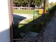 Metall-Rohr-Rahmen, 185 x 86,5 cm (geplanter Windfang) - Simbach (Inn)