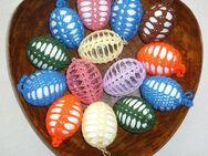 Umhäkelte Eier - Melsungen