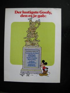 Das große Goofy Album - Band 6 - Johannes Gutenberg - Niddatal Zentrum