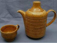 Celtic Atlantis Ireland Teekanne / Kaffeekanne + Tasse - honiggelb - ca. 1 Lt. Volumen - Groß Gerau
