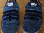 Lepi Schuhe Gr. 39, schickes Blau. - Münster