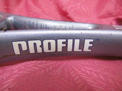 defekter Tennisschläger Wilson Modell Hammer 5.8 / Vintage / Tennisracket - Zeuthen