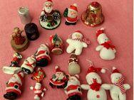 Ca. 20 Teile Dekoration Weihnachtsschmuck - zum aufstellen /aufhängen - Groß Gerau