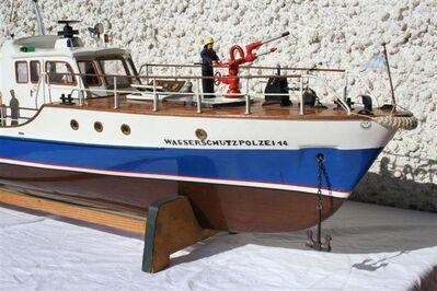Modellboot - Wasserschutzpolizei - Erding