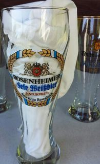 Zwei Weizengläser im Set. - Kassel Brasselsberg