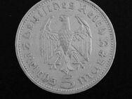 5-Reichsmark-Münze 1935, 900er-Silber. Hindenburg+Reichsadler - Münster