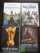 4  DVD`S, Walhalla Rising,Das Lager,Difiance usw.