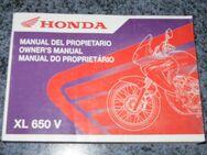 Bedienungsanleitung (B. A.) Honda XL 650 V - Bochum Goldhamme