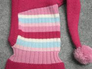 Schalmütze Mütze für Mädchen mit Bommel - Krefeld