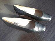 Görtz Leder Pumps Gr. 40 1/2 schwarz Damen Schuhe Vintage 9,- - Flensburg