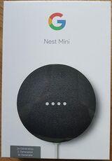 Google Nest Mini 2. Generation Smart Speaker, Google Assistant - OVP