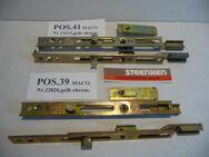 MACO-Endverschluß für Stulpflügel oben,Euronut,24698,gelb chrom. - Ritterhude