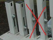 solide Stahlfüße Ständer Konsole Montageständer höhenverstellbar - Flensburg