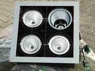 Spotlights aus Metall / Deckenfluter mit 4 Strahlern - Frankfurt (Main)