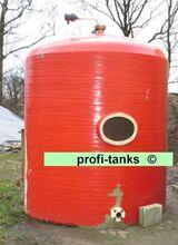 Polyestertank 6.000 L GFK-Tank Lagertank Wassertank Molketank Lagerbehälter Futtertank