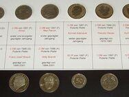 12 ausgewählte DM-Münzen von 1950 bis 1997 - Bamberg
