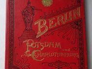 Berlin Potsdam und Charlottenburg. Leporello-Album um 1890, Lithographien - Königsbach-Stein