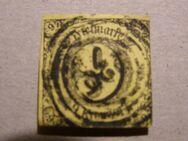 AD-Thurn u.Taxis,9 Kr.1852.,MI:DE 10,  Lot 586