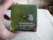 WMF-Erdnuß-Männle,Erdnußspender,Alt,ca. 70er Jahre,ca. 19,5 cm hoch,ca. bis 6,5 cm Dm. - Linnich