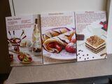 3 Bilder Rezepte Spannrahmenbilder Küchendeko Wanddeko 20 x 30 cm zus. 3,-