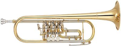Yamaha YTR 436G Goldmessing B - Konzert- Trompete NEUWARE - Hagenburg