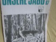 Zeitschrift UNSERE JAGD 5 antike Hefte (1988 bis 1967) - Bad Belzig Zentrum