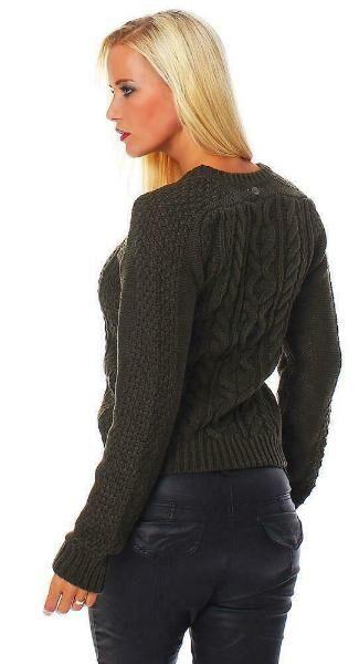 Damen Strick Pullover von All About Eve khaki Größe M (10),Neu - Reinheim