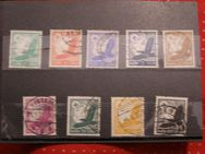 Deutsches Reich,Adler Flugpostmarken  1937-38,MiNr.529-537 Lot 176