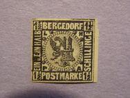 AD-Bergdorf 1 1/2 Schilling 1861-67,  MI:DE 3,Lot 647
