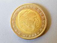 2 Euro Kursmünze Monaco 2001,Lot 36