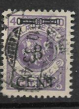 DR Memelgebiet  3 CENT. auf 40 M,1923 Mi:178,Lot 1287