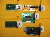 5  LPT - Parallel - Schnittstellen Karten für Drucker-, Scanner- Anschluß oder Lap-Link-Kabel PC-Verbindung