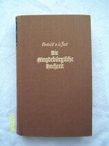 Die Magdeburgische Hochzeit - Gertrud von le Fort | Preis inkl. Versand als Büchersendung innerhalb Deutschland