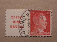 DR-A.H.3 Marken 11.07.1942,Mi:Nr.784+788 ,Lot 373