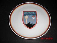 Bundeswehr Porzellanteller Militärischer Abschirmdienst Köln MAD Wappen 1985 - Bottrop