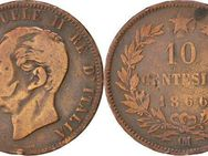 10 Centesimi 1866 Italien Vittorio Emanuele II.