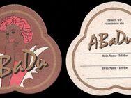 AbaDu Moninger Bierdeckel BD Bierfilz Brauerei - Nürnberg