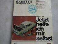 Opel Kadett B Reparaturanleitung Jetzt helfe ich mir selbst - Frankfurt (Main)