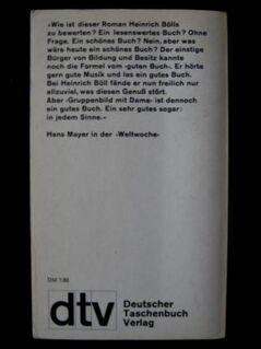 Heinrich Böll - Gruppenbild Mit Dame - Niddatal Zentrum