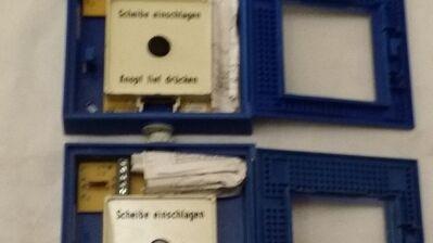 Hausalarmtaster auf Putz blau Zettler zu Ersatzzwecke - Berlin