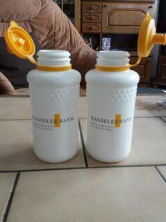 Zwei Fahrrad Trinkflaschen im Set. - Kassel