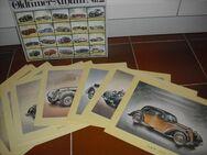 ARAL Oldtimer - Album Nr. 1 (Sammelmappe mit  20 Kunstdrucken von Automobilen 1885 - 1930) - Rosenheim