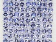 4,85 ct -ECHT - VVS, TOP ,schönes Augenreines Tansanit Lot , Purple Blue 2,7 mm - Neubrandenburg