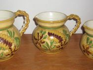 Vasen  Set 3-teilig aus Italien verschieden große Henkel Vasen