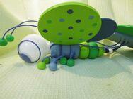 Süße Kinderzimmer Pendelleuchte Bienchen von Waldi / blau/grün, 1-flammig - Zeuthen