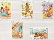 Olympia-Briefmarken 1992 Barcelona von Cuba (2) [359] - Hamburg