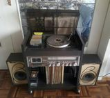 Stereoanlage Plattenspieler Cassettendeck, bestes Gebot