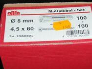 Multidübel - Set 8 mm